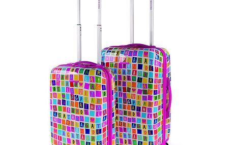 Set barevných kufrů Agatha Ruiz de la Prada