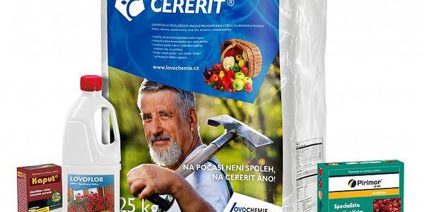 Speciální balíček hnojiv - Lovochemie Okrasná zahrada. Obsahuje 25 kg hnojiva