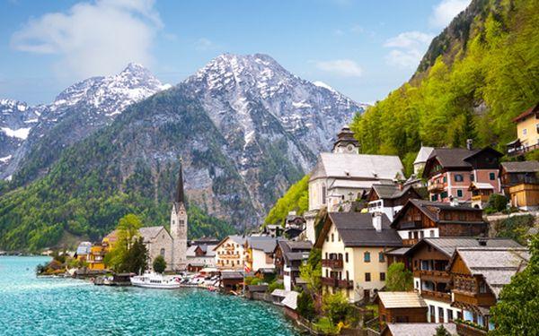 Jednodenní zájezd k jezerům Solné komory v Rakousku (UNESCO)