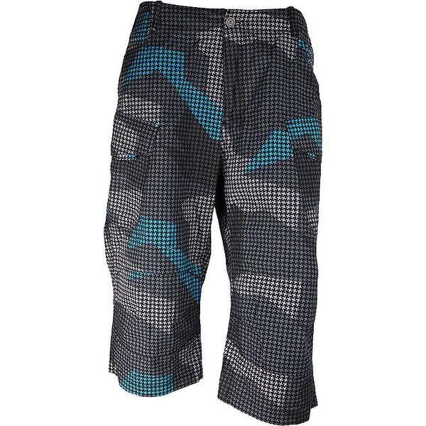 Dámské šedé 3/4 kalhoty Authority s maskáčovým vzorem