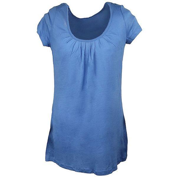 Dámské modré triko s potiskem Authority