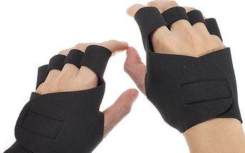 Neoprenové protiskluzové fitness rukavice - černé a poštovné ZDARMA! - 6503889