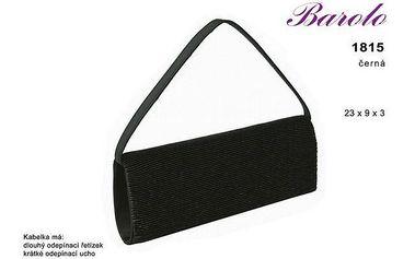 Společenská kabelka Famito 1815 černá