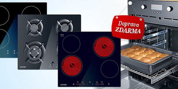 Vestavná trouba Concept + deska dle výběru