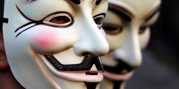 Originální maska Anonymous jen za 199 Kč - zajímavý doplněk na párty, ples nebo jen tak pro radost!!