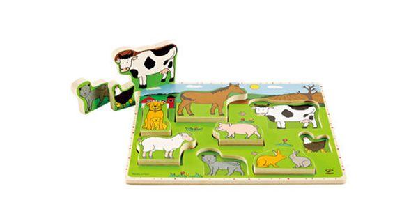 Puzzle Farma. Zabavte své děti s krásnými a kvalitními hračkami