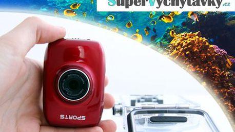 Sports camera i do vody včetně poštovného!