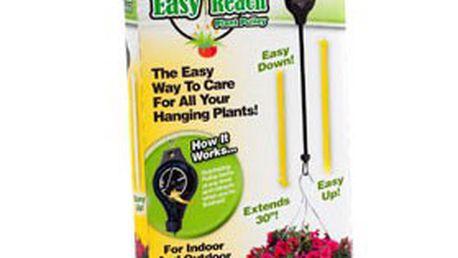 2 ks závěsných stahovacích kladek pro snadný přístup ke květinám! K dostání v barvě černé