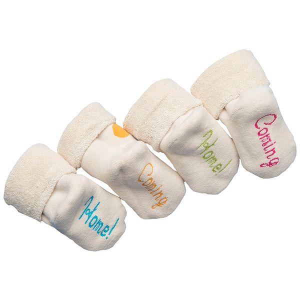 Modré ponožky - BIO bavlna