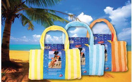 Rychleschnoucí osuška z mikrovlákna včetně plážové tašky za pouhých 235 Kč! Osuška ze speciálního lehkého a tenkého mikrovlákna, která absorbuje 3krát rychleji než běžné froté ručníky a snadno se ždíme.