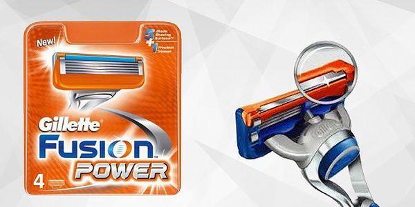 Gillette Fusion Power náhradní hlavice - 4 ks