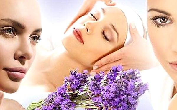 Masáž obličeje galvanickou žehličkou s živým kolagenem