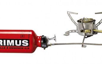 Primus MultiFuel EX snově montovaným hořákem