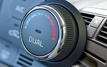Kompletní čištění a servis klimatizace auta