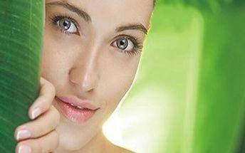 ZPEVNĚNÍ A REGENERACE PLETI - Osvěžující kompletní kosmetické ošetření včetně úpravy obočí a masáže obličeje za báječných 484 Kč!