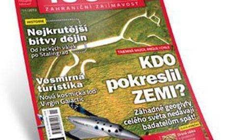 PŮLROČNÍ PŘEDPLATNÉ 100+1 + mapa sluneční soustavy, jubilejní Retro vydání a speciál! Skvělé čtení NEJEN na léto