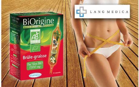 Velmi účinný spalovač tuku BiOrigine Brule-Graisse! 10 kapslí se 100% Bio extraktem ze zeleného čaje, díky kterému dáte sbohem spíčkům.