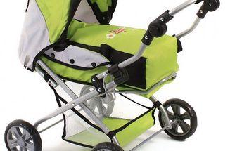 Bayer Chic PICCOLINA kočárek pro panenky, zelená