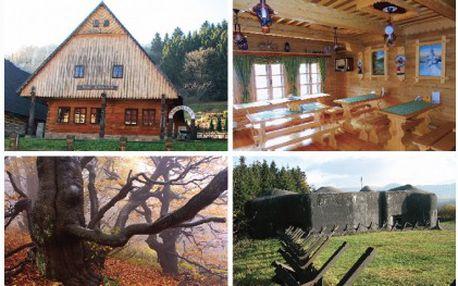 Tří denní pobyt deluxe na Roubence Žacléř pro 2 osoby se snídaní ve stylové roubené chatě v Žacléři za úžasných 1 399 Kč! Okolí je ideální pro turistiku a sport!