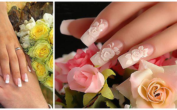 Dokonalé svatební nehtové modelace, nehty na rukou a nohou jako od princezny!
