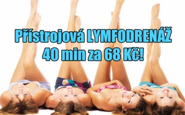 68 Kč za 40 min. přístrojové lymfodrenáže ve studiu Step v centru Prahy 1, u metra Můstek!!!