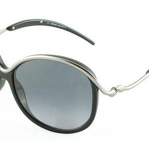 Dámské sluneční brýle Roberto Cavalli stříbrno-černé