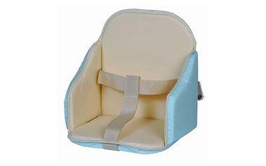 Podložka do židličky modro-béžová (oboustranná)