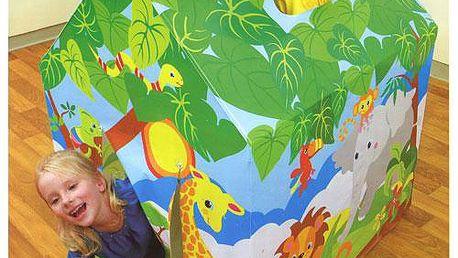 Děti doporučují: Intex Domeček džungle
