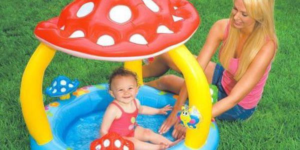 INTEX dětský bazén Muchomůrka 102x89 cm