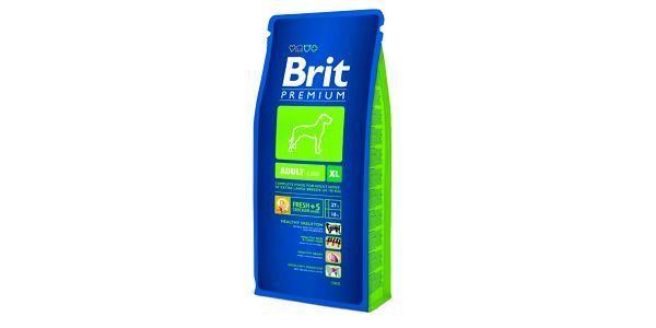 Kompletní prémiové krmivo pro dospělé psy BRIT Premium Dog Adult XL 15 kg