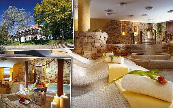 6denní přepychový wellness pobyt pro 2 v hotelu Bílý Hořec
