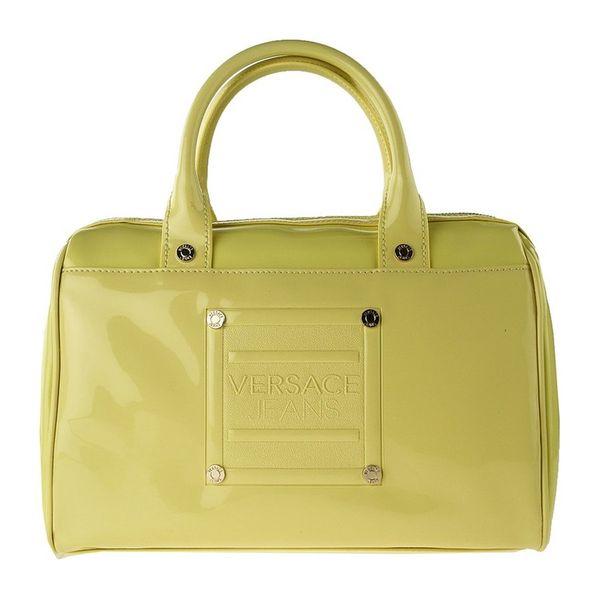 Dámská kabelka Versace světle zelená