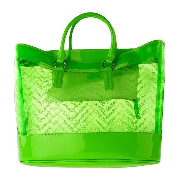 Dámská kabelka Versace zářivě zelená