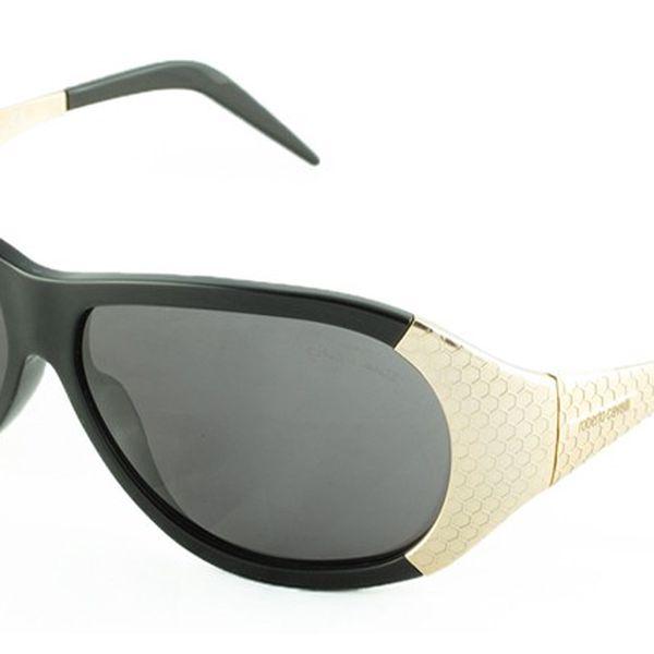 Dámské sluneční brýle Roberto Cavalli černo-bílé