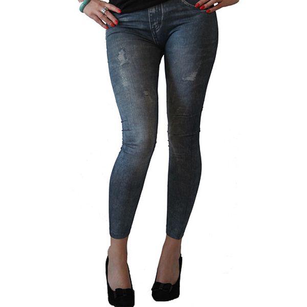 Legíny – džínový vzor