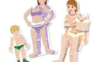 Rosteme - Při této hře děti poznávají lidské tělo.