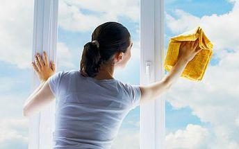 Mytí oken v Praze nebo Brně s čištěním rámů