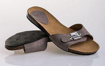 Dámské béžové pantofle Scholl