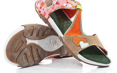 Dámské oranžové sandály American Eagle