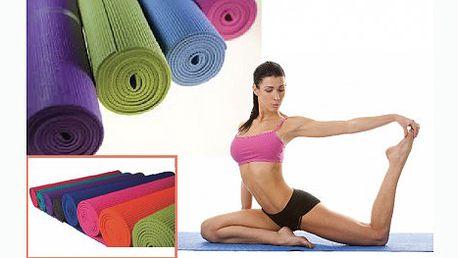 Podložka na cvičení jógy, pilates i k relaxaci za pouhých 199 Kč. Cvičte a relaxujte pohodlně. Podložka se nesmeká a hlavně chrání před zimou od podlahy!