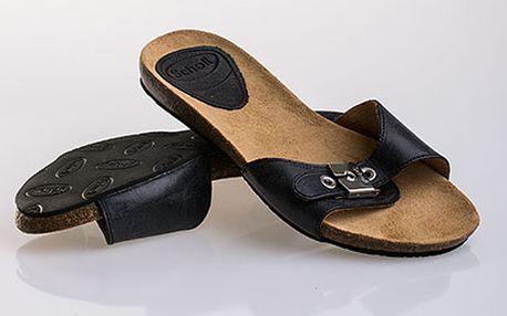 Dámské tmavě šedé pantofle Scholl