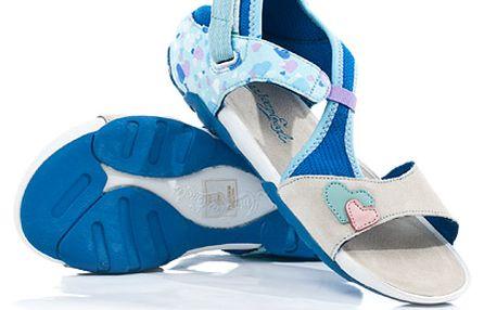 Dámské modré sandály American Eagle