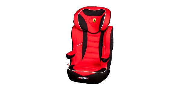 Autosedačka R-Way SP soblíbeným designem Ferrari a zádovou opěrkou Ferrari R- Way SP 15-36 kg
