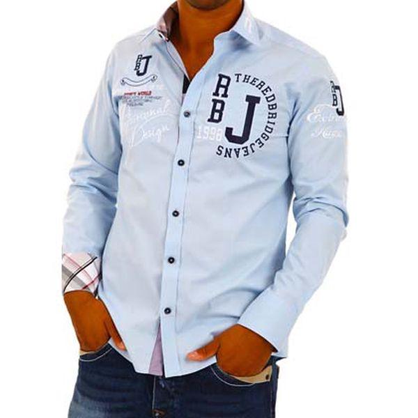 Pánská světle modrá košile Redbridge