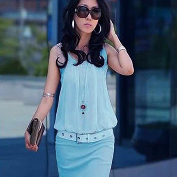 Modré šaty Florence