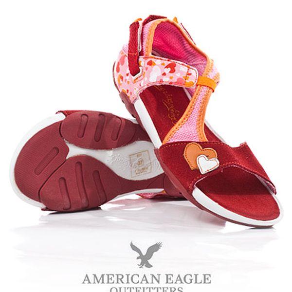 Dámské červené sandály American Eagle