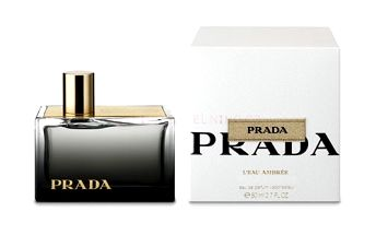Prada L´Eau Ambrée parfémovaná voda 80ml - poškozená krabička