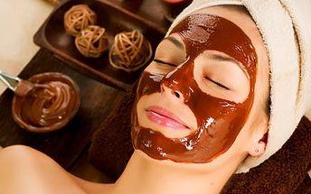 Luxusní čokoládové ošetření pleti s použitím příro...