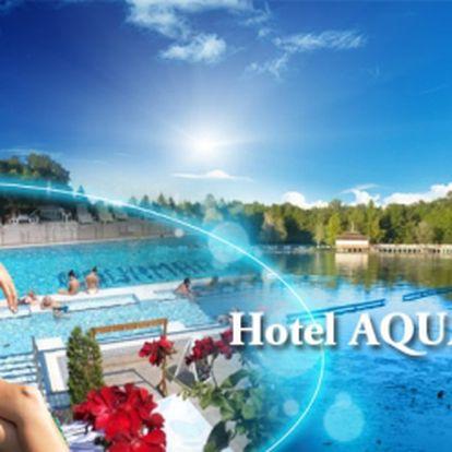 Maďarsko, Hevíz! 5denní LÉČEBNÝ pobyt PRO 2 osoby na břehu termálního jezera ve 3* hotelu s POLOPENZÍ, MASÁŽÍ a 2hodinovým vstupem do TERMÁLNÍHO JEZERA jen za 7961 Kč! Voucherem platíte pouze zálohu ve výši 1592 Kč!