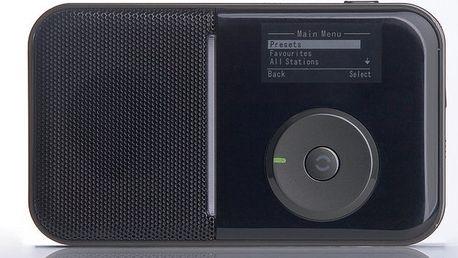 Internetové rádio, které umožňuje jak poslech internetových stanic SENCOR SIR 007BL - II. jakost